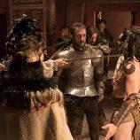 Hernán Cortes en 'Carlos, Rey Emperador'