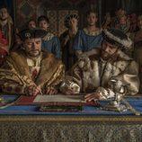 Enrique VII y Francisco I de Francia en 'Carlos, Rey Emperador'