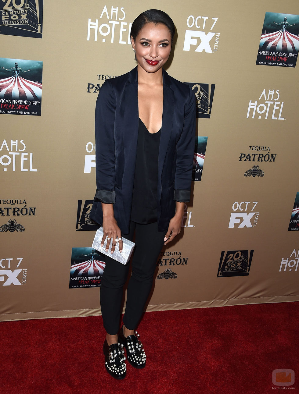 Kat Graham acude a la premiere de 'AHS: Hotel' en Los Ángeles