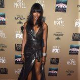 Naomi Campbell apoya a sus compañeros en la premiere de 'AHS: Hotel'