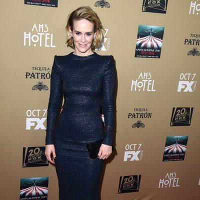 'American Horror Story: Hotel' celebra su premiere rodeado de estrellas