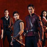 El equipo de actores al completo de 'Into de Badlands'