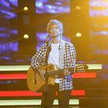 Vicky Larraz interpreta a Ed Sheeran en 'Tu cara me suena'