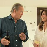Mariló Montero y Bertín Osborne en un ambiente distendido en el programa 'En la tuya o en la mía'
