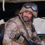 Héctor recuerda sus momentos en Afgánistan en 'Mar de plástico'