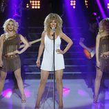 Ruth Lorenzo imita a Tina Turner en la quinta gala de 'Tu cara me suena'