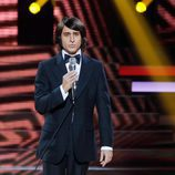 Adrián Rodríguez imita a Nino Bravo en la quinta gala de 'Tu cara me suena'