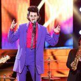 Edu Soto imita a Willie Deville en la quinta gala de 'Tu cara me suena'