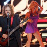 El Sevilla imita a Zuchero en la quinta gala de 'Tu cara me suena'