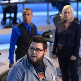 Daniel Grummitz, la doctora Avery Ryan y Brody Nelson en 'CSI: Cyber'