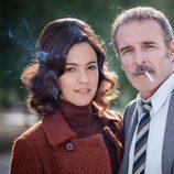 Verónica Sánchez y Fernando Guillén Cuervo, protagonistas de 'El Caso'