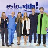 Cristina Lasvignes posa junto al equipo médico al completo de 'Esto es vida'