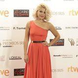 Thais Blume brilló en la alfombra de los Premios Iris 2015