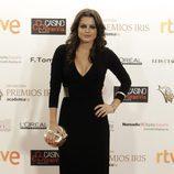 Adriana Torrebejano pasó por la alfombra de los Premios Iris 2015