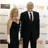 Enrique Villén y su mujer acudieron a la entrega de los Premios Iris 2015