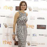 Silvia Jato se dejó ver en la entrega de los Premios Iris 2015