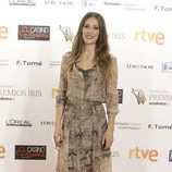 Adela Ucar sorprende con su juvenil look en los Premios Iris 2015