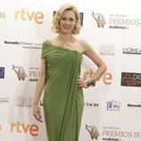 Maggie Civantos posa en la alfombra de los Premios Iris 2015