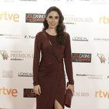 Candela Serrat en la alfombra de los Premios Iris 2015