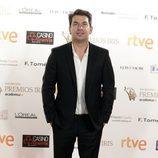 Arturo Valls en la alfombra roja de los Premios Iris 2015