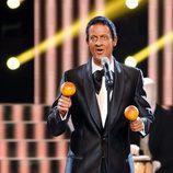 Edu Soto es Antonio Machin en la sexta gala de 'Tu cara me suena'
