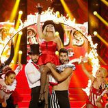 Silvia Abril es Britney Spears en la sexta gala de 'Tu cara me suena'