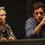 Juan Rueda y su esposa Agneska en 'Mar de plástico'