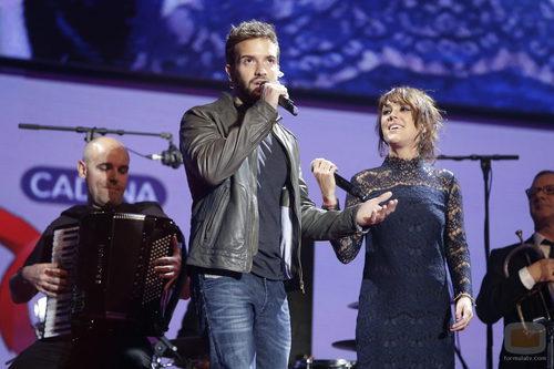 Pablo Alborán en la gala de 'Cadena 100 a por ellas'