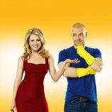 Cartel promocional de 'Melissa y Joey'