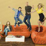 El elenco de la serie se divierte en 'Melisa y Joey'