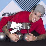 Justin Bieber, gran ganador de los 'MTV EMAs 2015'