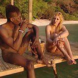 Johana y Maulyo en 'Adán y Eva'