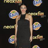 Elisa Mouliaá en la alfombra naranja de los Neox Fan Awards 2015