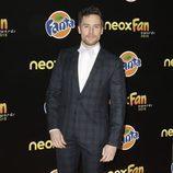 Roger Berruezo en la alfombra naranja de los Neox Fan Awards 2015