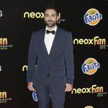 Jon Plazaola en la alfombra naranja de los Neox Fan Awards 2015