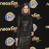 Silvia Alonso en la alfombra naranja de los Neox Fan Awards 2015
