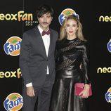 Javier Rey y Marta Hazas en los Neox Fan Awards 2015