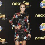Paula Echevarría en la alfombra naranja de los Neox Fan Awards 2015