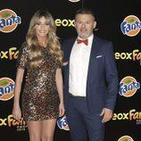 Anna Simon y Miki Nadal en la alfombra naranja de los Neox Fan Awards