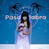 Patricia Yurena disfrazada de novia zombi en el especial de Halloween de 'Pasapalabra'