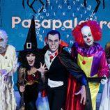 Jorge de Lucas, Andrea Duro, Christian Gálvez, José Lamuño y Patricia Yureña en 'Pasapalabra'