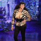 Ellen DeGeneres disfrazada de ''Karla Kardashian''