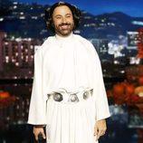 Jimmy Kimmel disfrazado de la princesa Leia