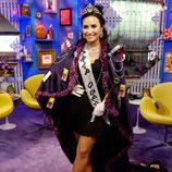 Demi Lovato disfrazada de una Trapp Queen