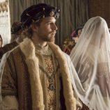 Isabel de Portugal y Carlos V  en su enlace matrimonial en 'Carlos, Rey Emperador'