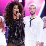 Vicky Larraz es Cher en 'Tu cara me suena'
