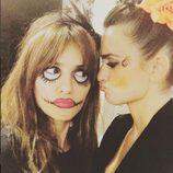 Mónica y Penélope Cruz disfrazada para Halloween 2015
