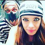 Dani Álves y su novia disfrazados para Halloween 2015