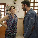 Juan Gutierrez con su madre, Carmen en 'B&B, de boca en boca'