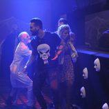 Ricky, Marina y Carlos en el túnel del terror de 'Gran Hermano 16'